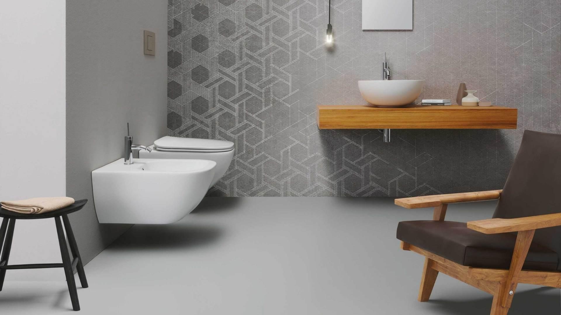 bidet Disegno Ceramica